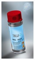 T4W Bright red spray paint RAL 3020 Verkehrsrot (59283)