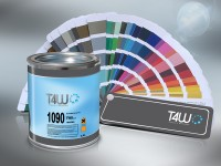 T4W Car paint - automotive Frozen black ( u91 ) 1L (u91)