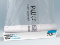 T4W Masking film / covering foil roll 4x150 m (59363)