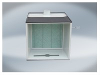 T4W Mini paint booth with fumes extraction (59241) (59241)