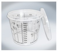 T4W Mixing Cups with graduation 1400ml (59461)