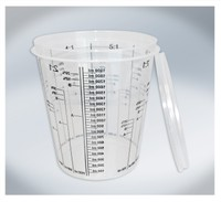 T4W Mixing Cups with graduation 2300ml (59462)