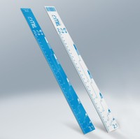 T4W Aluminium paint mixing stick ruler ( 59548)