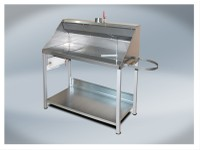 T4W Stainless steel paining table with fumes extraction (59240) (59240)
